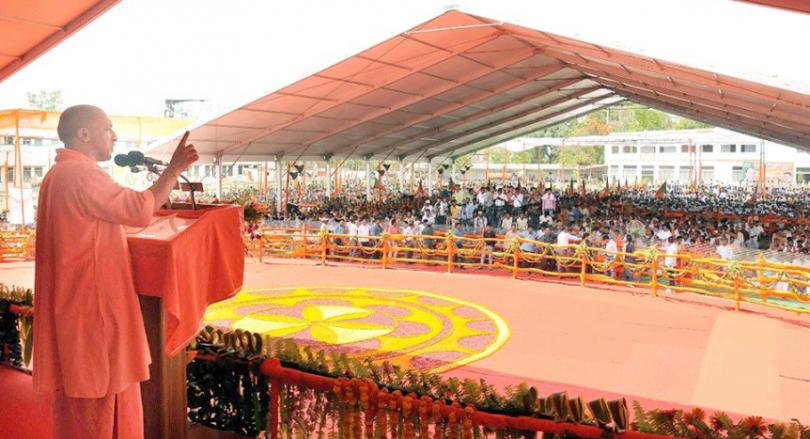 Yogi Adityanath Claims Gita, Ramayana, Not Taj Mahal Representative Of Indian Culture At Bihar Rally