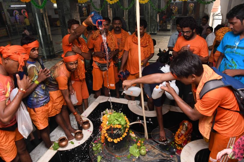 Sawan Shivratri 2017: Look at the Kanwar Yatra of this year in pictures