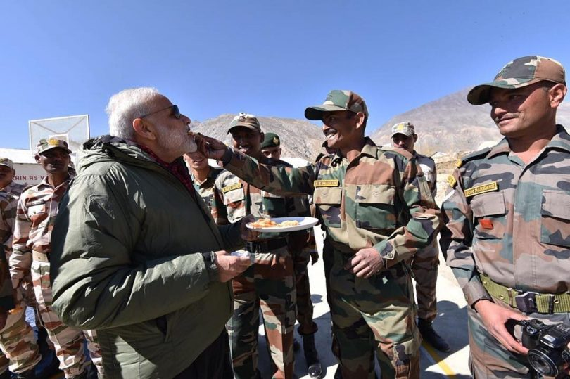 India and China border standoff enters third week