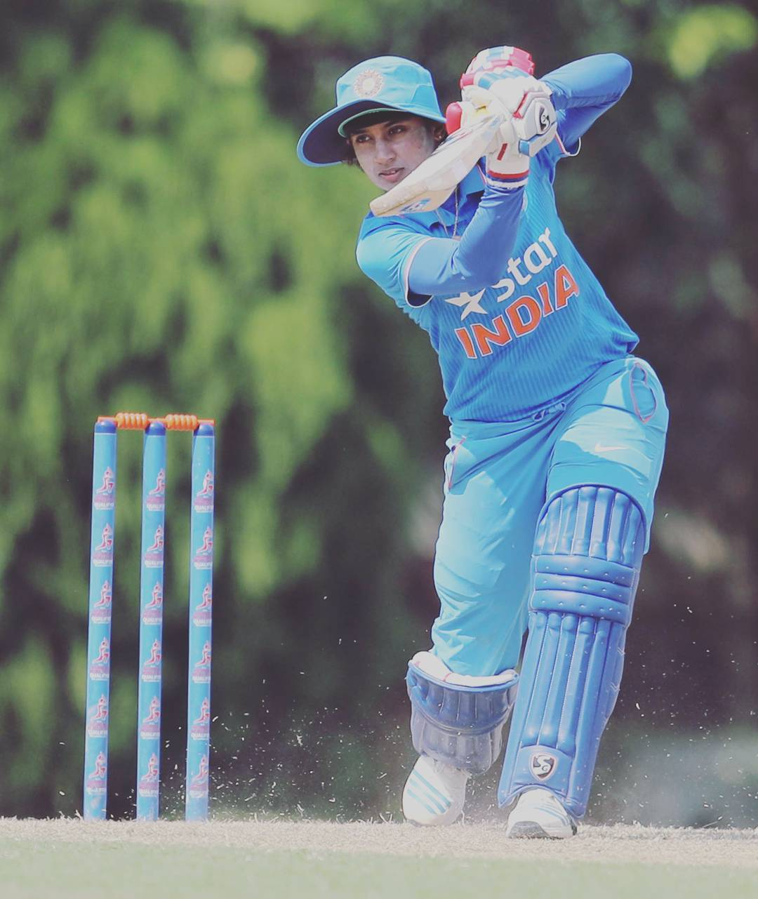 Deepti, Mithali guide India to 232/8