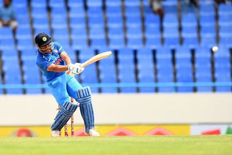 India v/s West Indies 3rd ODI : Dhoni, Ashwin Take India To 93 Run Victory, India Lead 2-0