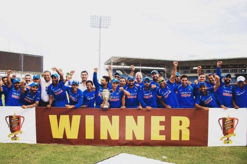 India Vs West Indies, 5th ODI: Shami, Kohli lead India to a 3-1 series win