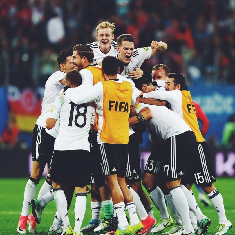 Germany wins Confedaration Cup with a 1-0 win over Chile