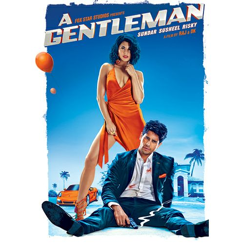 A Gentleman new poster marks the sizzling look of Jacqueline and Sidharth