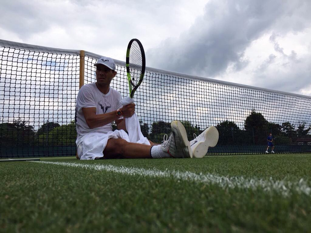 Nadal knocked out of Wimbledon 2017