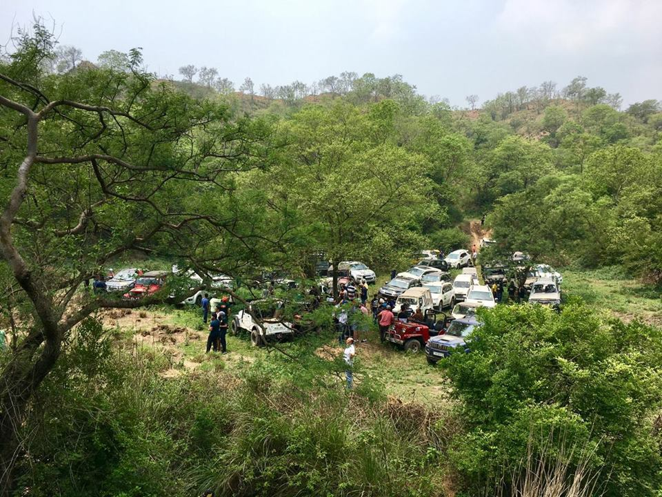 Gerrari Offroaders Chandigarh: Gurmeet Virdi Maintains lead in Rainforest Challenge
