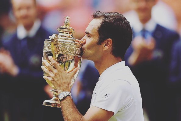 Wimbledon Final 2017 : Roger Federer sets record of 8th title by beating Cilic in straight sets