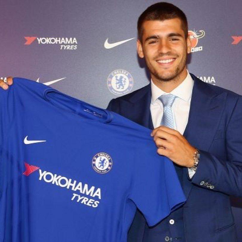 Chelsea Sign Real Madrid's Alvaro Morata In £70 Million Deal