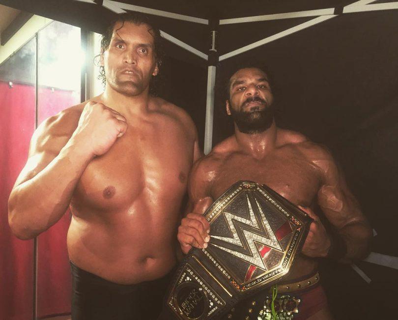 WWE Battleground 2017: Khali helped Jinder Mahal to retain WWE Championship