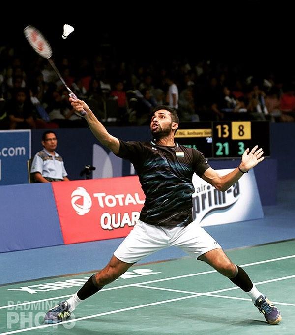Yonex US Open : HS Prannoy defeats Parupalli Kashyap To Win