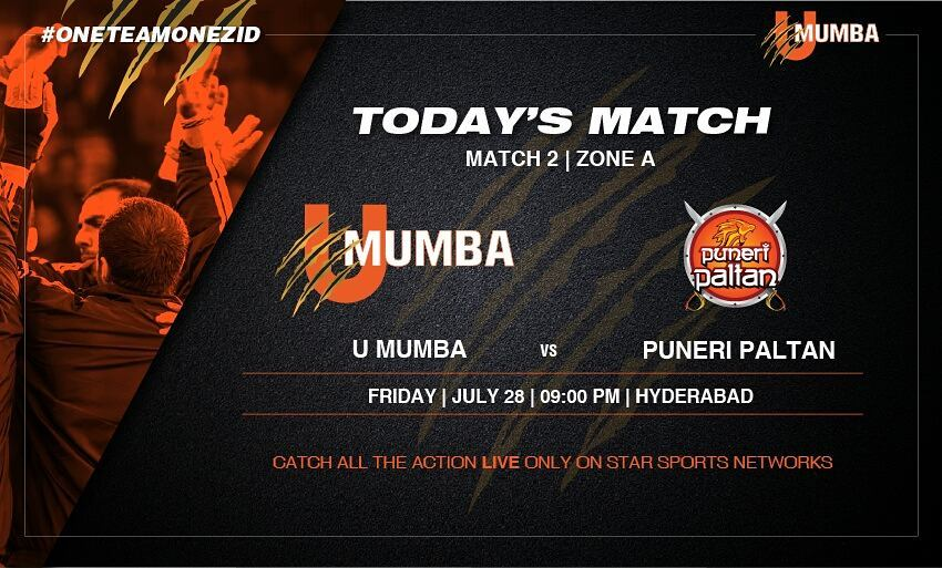 Pro Kabbadi 2017 Match Highlights : Puneri Paltan defeats U Mumba 33-21