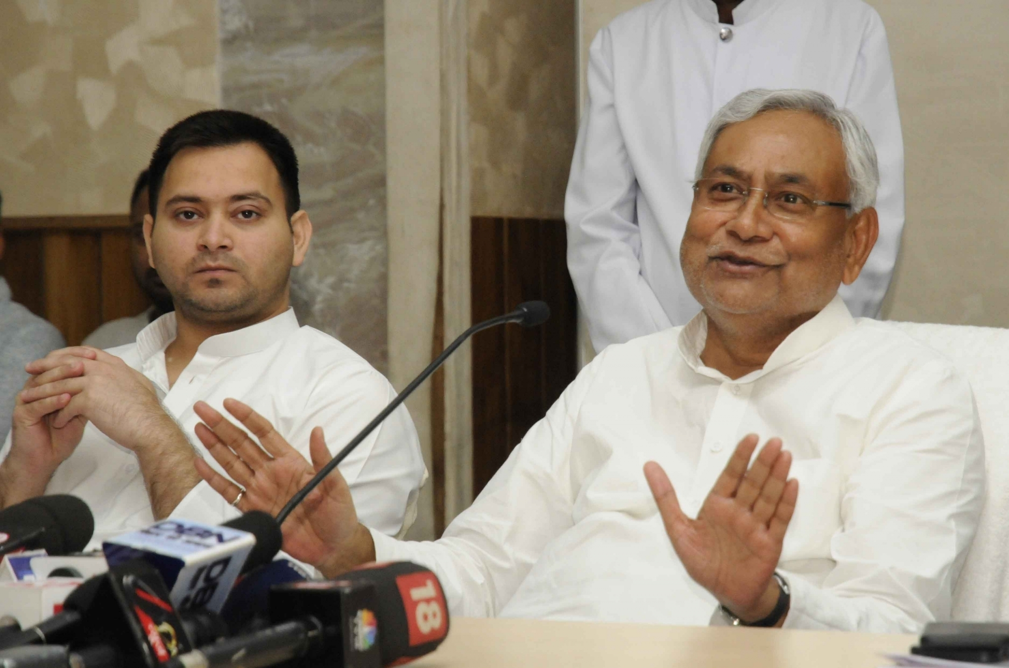 "Tejashwi Yadav accuses Bihar CM Nitish Kumar of being ""opportunist"" as he broke ties with RJD"