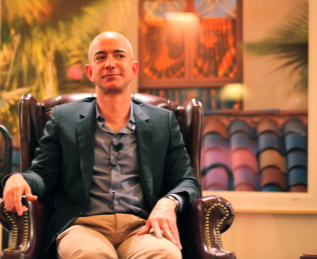 Jeff Bezos Is Richest Person On Earth