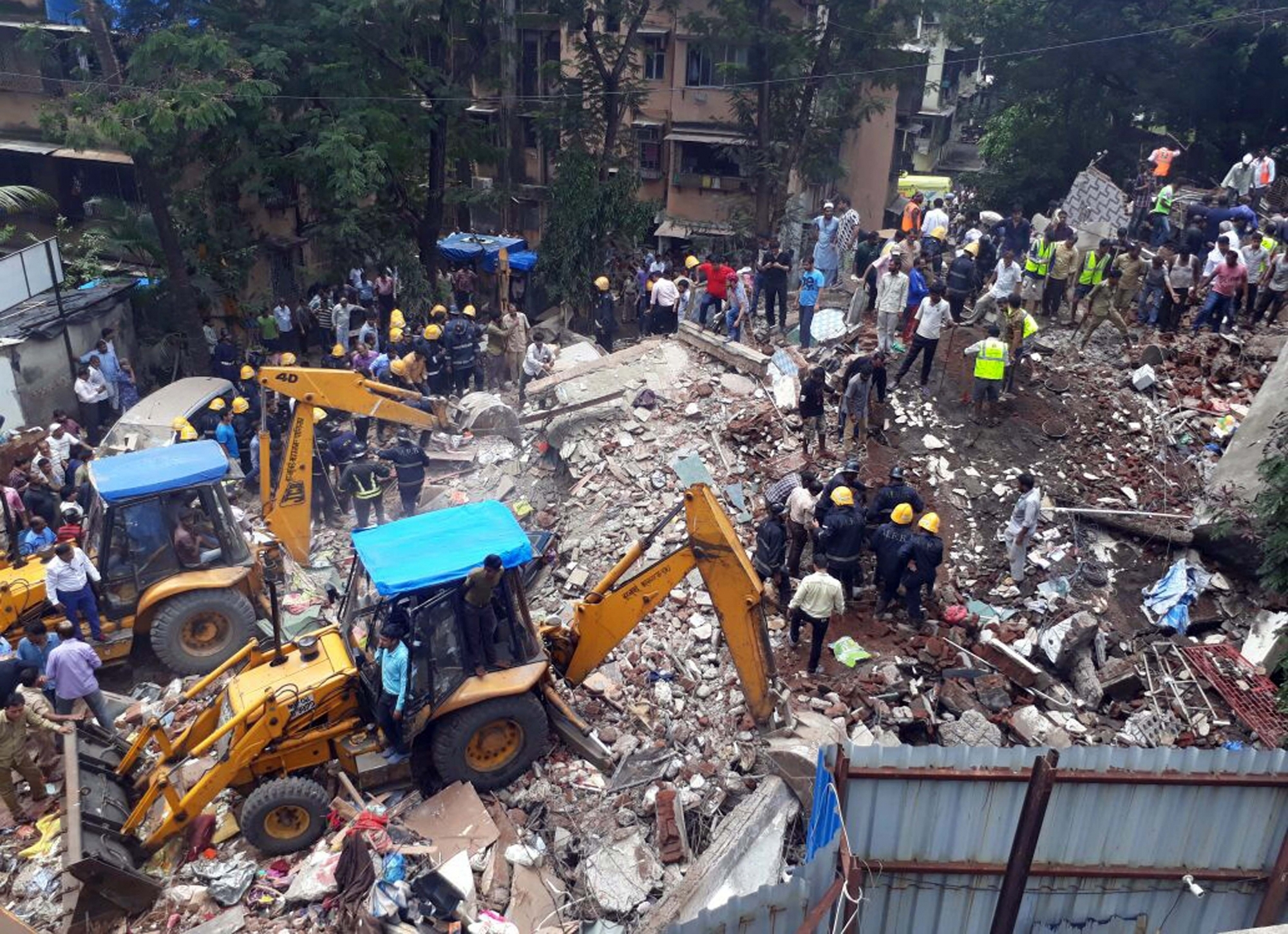 Dead, Many Feared Trapped In Mumbai Building Collapse