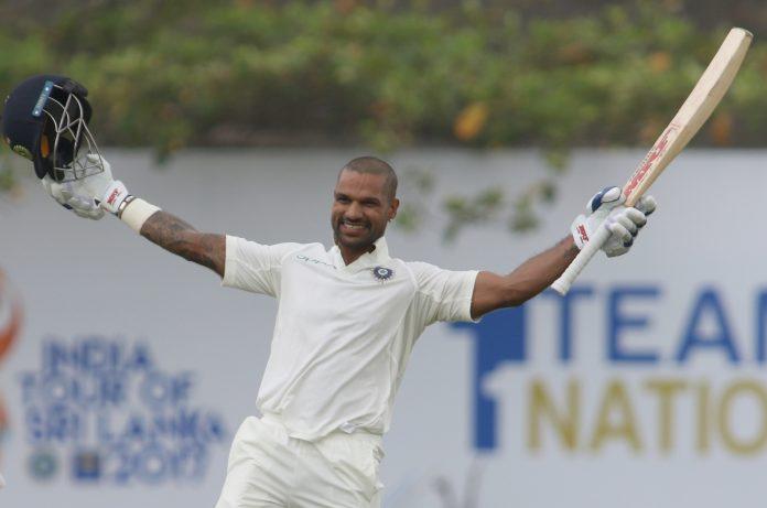 India Vs Sri Lanka 2017, 1st Test: Shikhar Dhawan pummels Sri Lanka, India heads to a big score at the end of first day