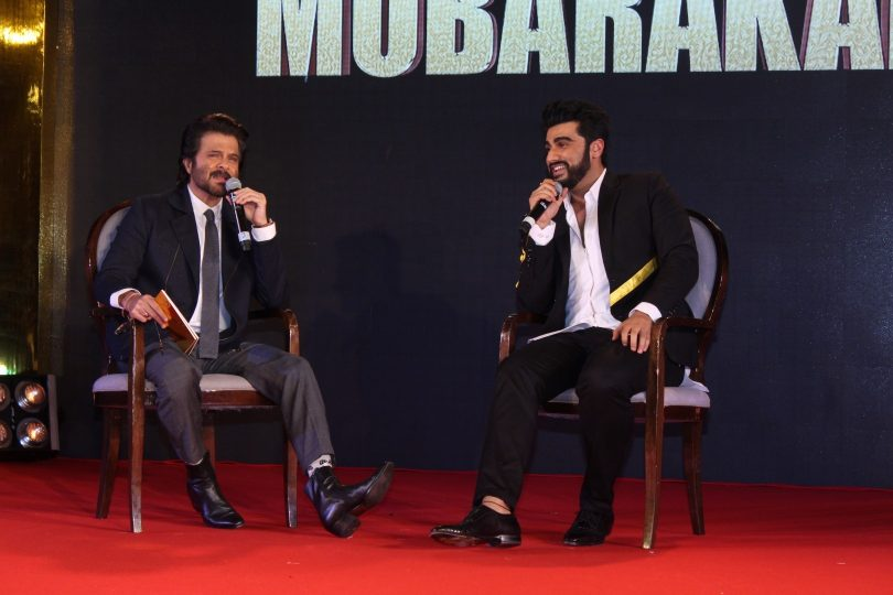 Mubarka promotion: Arjun Kapoor and Anil Kapoor talk about Sonam Kapoor