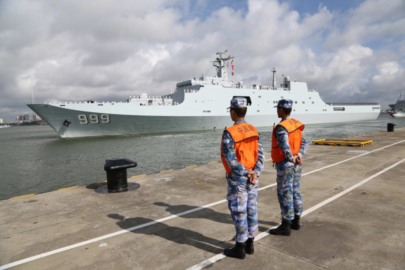 China sent troop in Djibouti to set up first millitary base oversees
