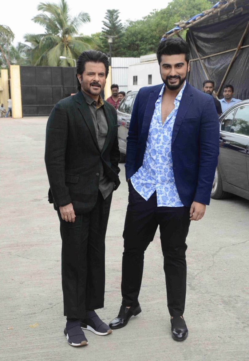 Sa Re Ga Ma Pa Lil Champs 2017 : Anil Kapoor and Arjun Kapoor promote Mubarakan on the sets