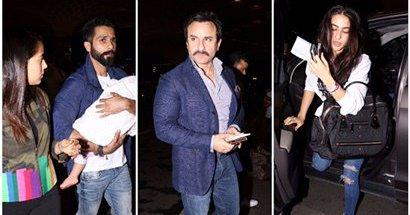 IIFA 2017: Saif Ali Khan, Mira Rajput and Shahid Kapoor head to New York