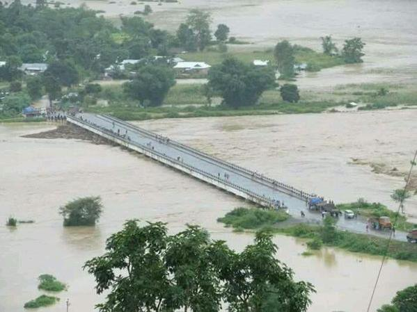 Manipur cut off from India as crucial Barak bridge collapses
