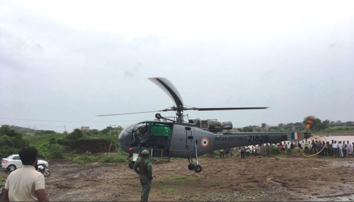 IAF could not rescue those who were not willing to leave their home in West Bengal