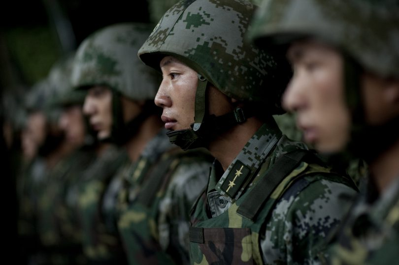 China military conducts live-fire drill in Tibet