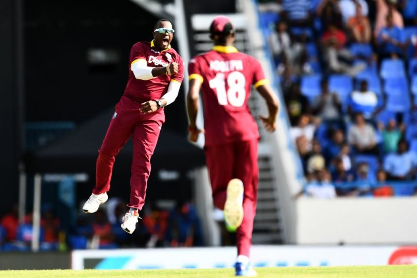 India loses to West Indies in the scoring match