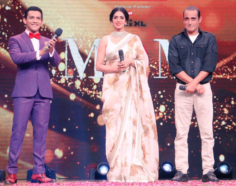 Sa Re Ga Ma Pa lil Champs 8 July 2017: Sridevi and Akshay khanna promote Mom