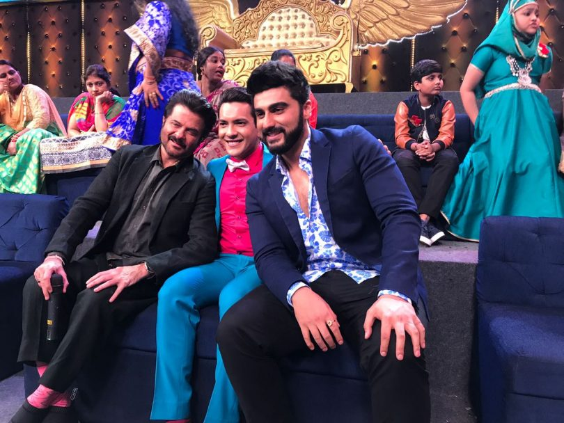 Sa Re Ga Ma Pa lil Champs 16 July 2017 episode and elimination : Anil Kapoor and Arjun Kapoor promote Mubarakan movie