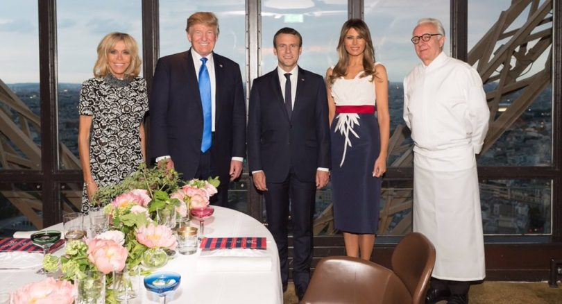 Donald Trump attends Bastille Day Parade in Paris