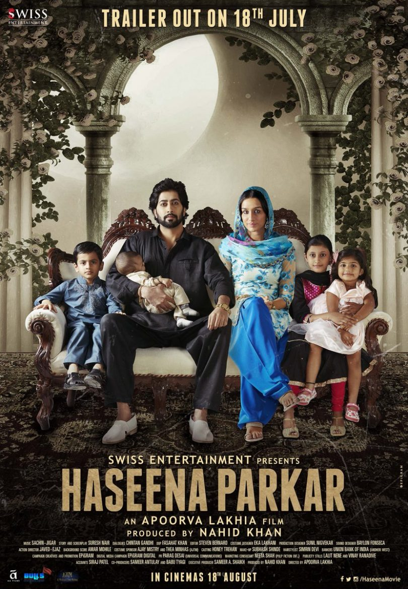 Haseena Parkar's New Poster: Shraddha Kapoor Strikes a Pose with her on-screen Family
