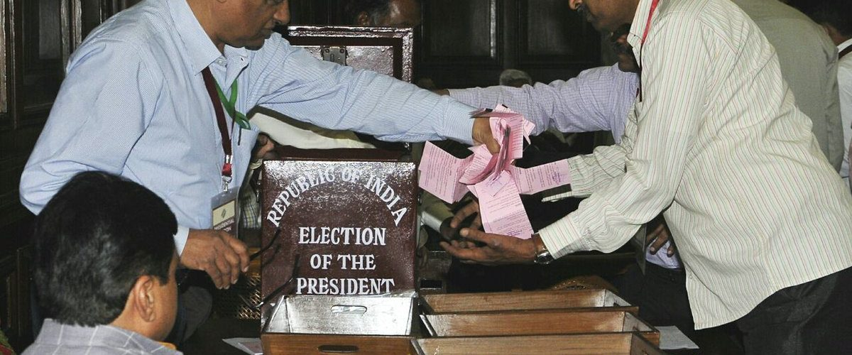 Presidential Election Results 2017 : Ram Nath Kovid is leading after the counting of one-round