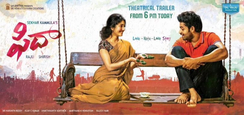 Fidaa movie: A Telugu love story releasing on 21st July