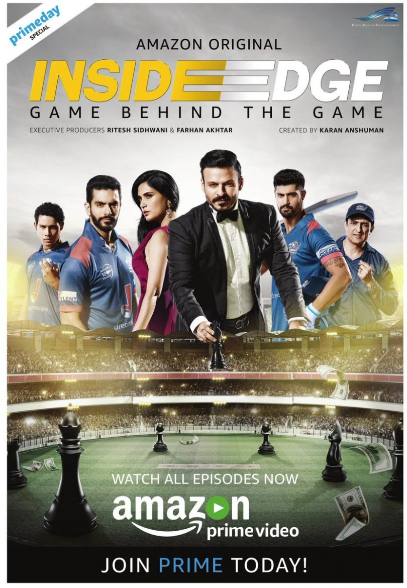 Inside Edge Amazon Web series of Vivek Oberoi gives you a wild journey of cricket