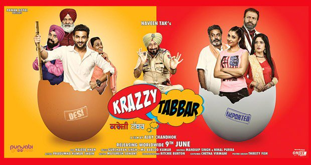 Krazzy Tabbar Movie Review: A Punjabi Comedy which will tickle your funny bones