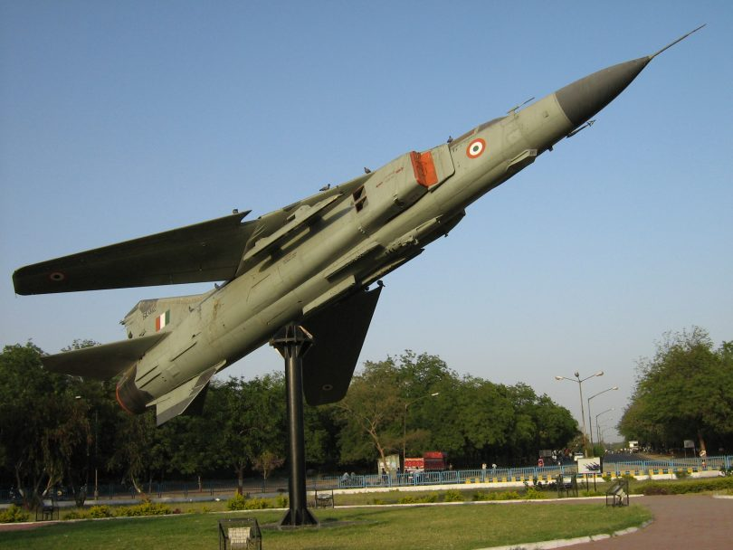 Indian Air force MiG-23UB crashed near Jodhpur in Rajasthan
