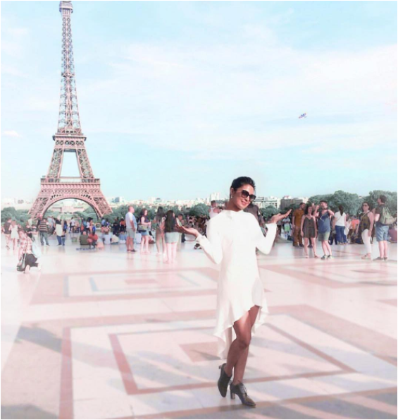 Priyanka Chopra at Paris Fashion week