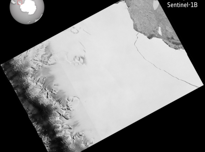 Iceberg Four Times The Size Of London Ruptures From Antarctic Peninsula Ice Shelf