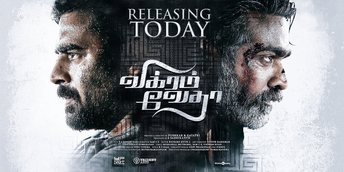 Vikram Vedha released today: Review and Rating