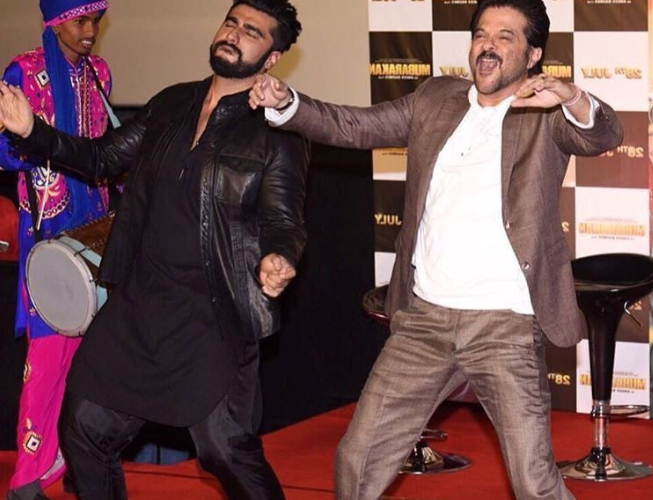 Arjun Kapoor excited on working with Anil Kapoor  in Mubarakan