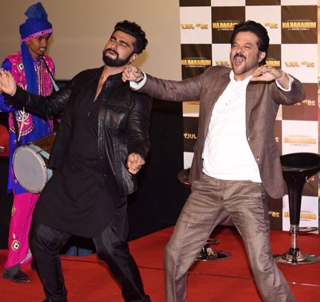Arjun Kapoor excited on working with Anil Kapoor  in Mubarakan