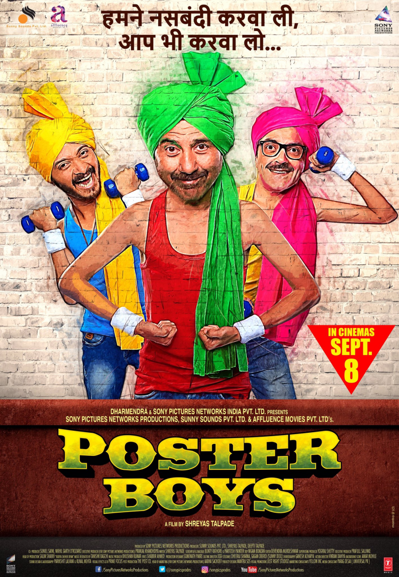Poster Boys movie trailer is out : Sunny Deol and Bobby Deol take you on a laughter ride