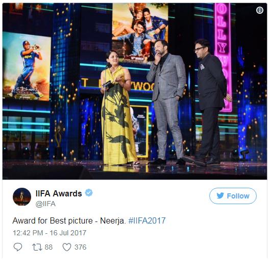 IIFA Awards 2017 best movie award