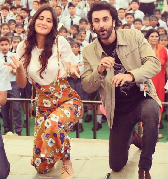 Jagga Jasoos: Ranbir Kapoor and Katrina Kaif get a gift from someone