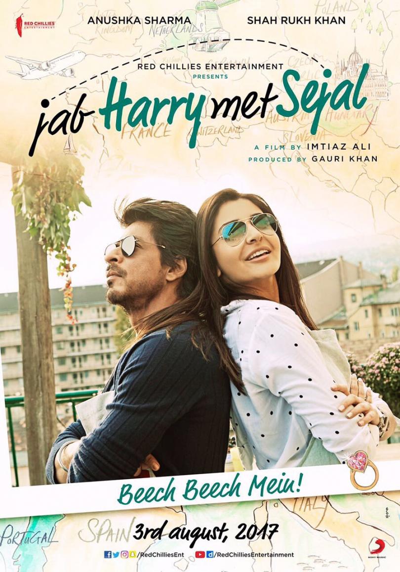 Imtiaz Ali next movie with SRK 'Jab Harry Met Sejal' gets U/A certificate from censor board