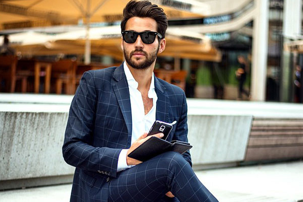Men dress up right as smart dressing at workplace boosts up confidence