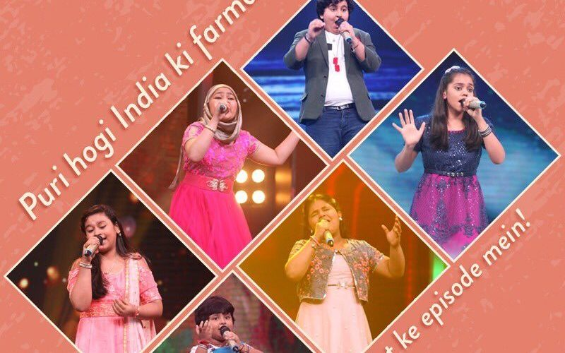 Sa Re Ga Ma Pa lil Champs 22 July 2017 India ki Farmaish episode and elimination