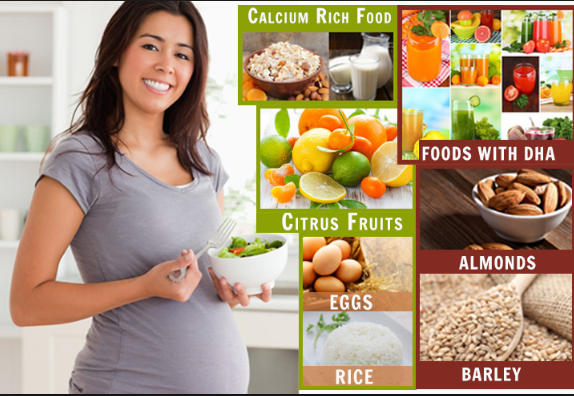 Women are advised to keep distance from high-fat diet during pregnancy