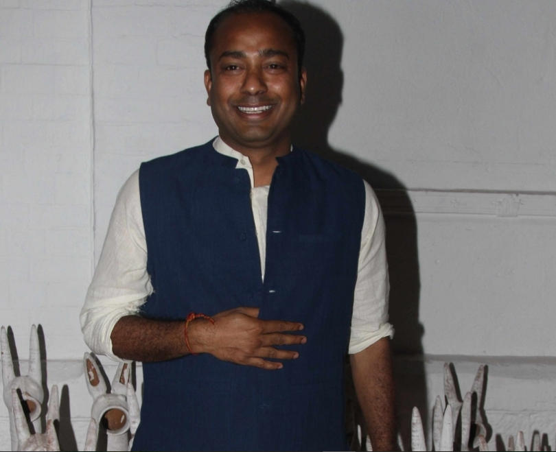 Designer Sanjay Garg wants to be the current darling of the fashion world