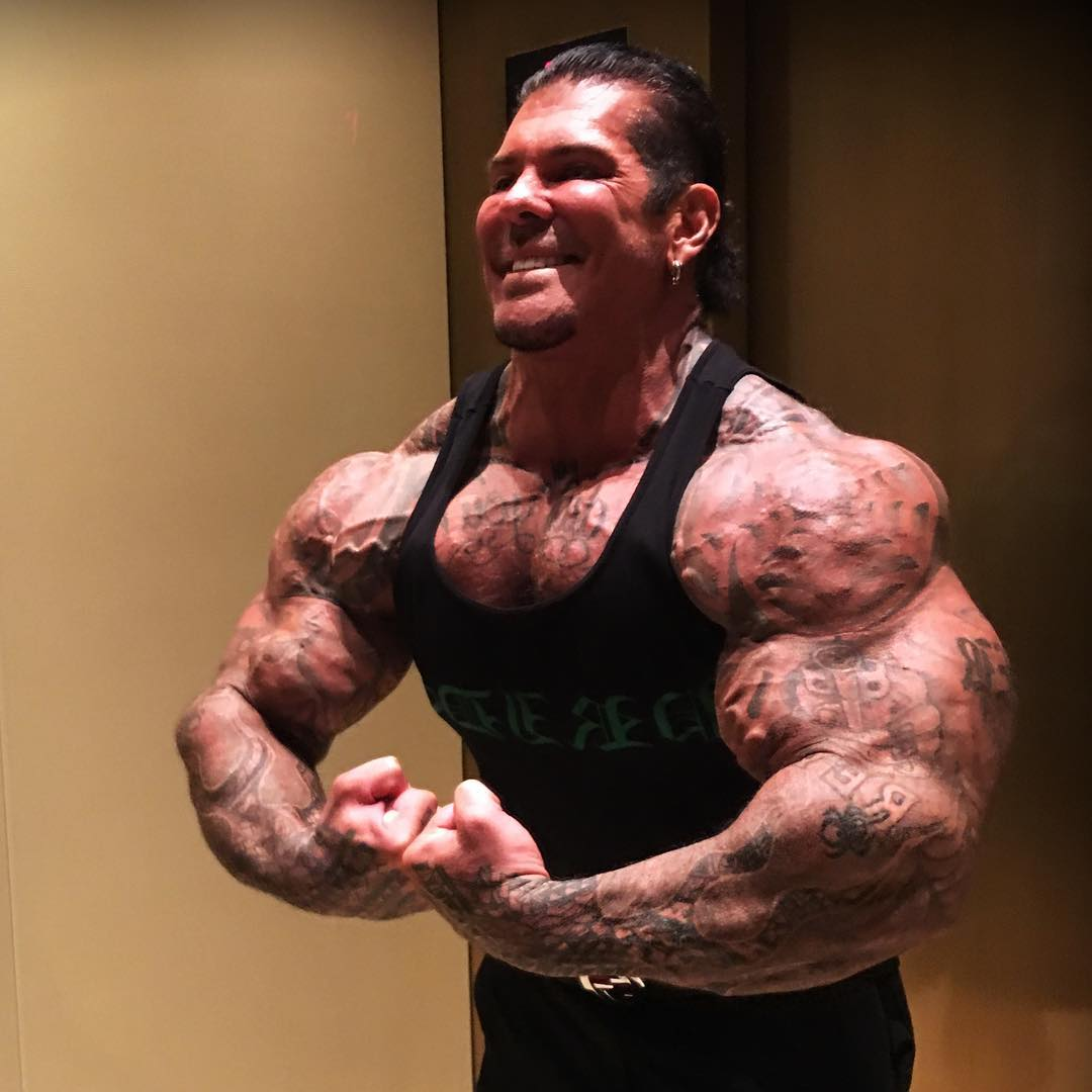 Rich Piana, Online Body-Building Sensation, Dead At 46 Of Massive Steroid Overdose